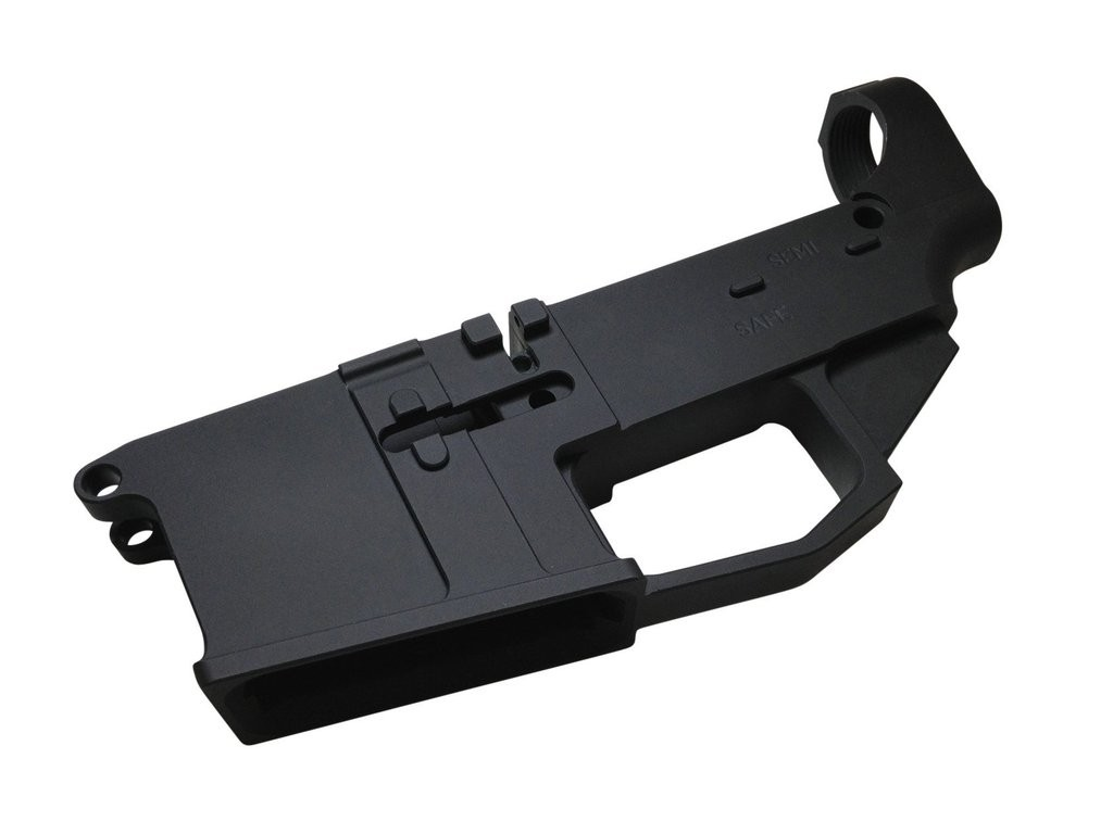 80% ARMS - TYPE III HARD ANODIZED BILLET AR-15 80% LOWER RECEIVER