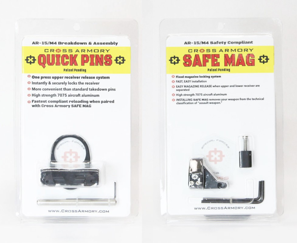 Cross Armory Quick Pins And Safe Mag Combo Crsmqp